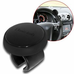 Zento Deals Car Steering Wheel Spinner Driver Handle Abs Silicone Grip Safe Knob