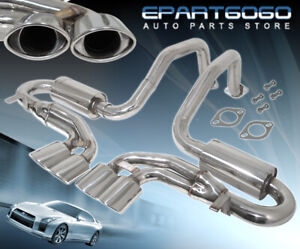 For 97 04 Chevrolet Corvette C5 Z06 Stainless Steel Performance Exhaust Catback
