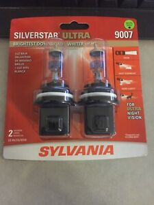 Sylvania Silverstar Ultra 9007 Factory Sealed Distressed Box