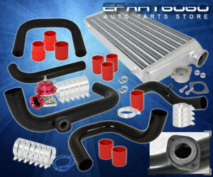 For 98 01 Integra Gs Ls Rs Gsr Type r 2 5 Piping Kit tube Fin Intercooler bov
