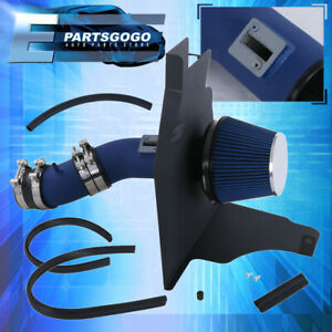 For 2011 2014 Ford Mustang V6 Base 3 7l 3 7 Blue Performance Cold Air Intake Kit