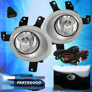 For 2007 2009 Honda Crv Clear Fog Driving Light Pair Lh Rh Replacement Upgrade