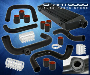 For 92 95 Civic B Series Motor Bolt On Turbo Piping Kit Blow Off Valve Flange