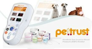 Petrust Pettrust True Veterinary Blood Pressure Monitor With 7 Cuffs For Dog cat