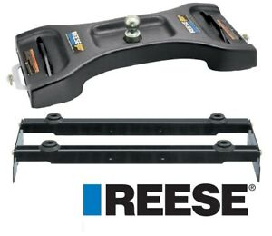 Reese Elite Base Rail 25k Gooseneck Hitch For 04 14 Ford F150 F 150 Lube Plate