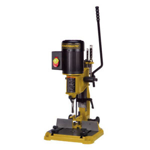 Powermatic Pm701 Benchtop Deluxe Power Hollow Chisel Mortiser Mortising Machine