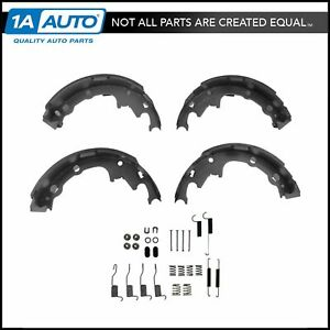 Rear 9 Inch Drum Brake Shoe Set W Hardware Spring Kit Set For Chrysler Dodge