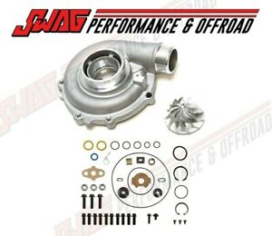 03 07 Ford 6 0l Compressor Housing Upgrade With Wheel Turbo Rebuild Kit 6 0