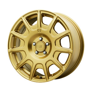 4 Motegi Mr139 15x7 5x100 15mm Rally Gold Wheels Rims 15 Inch