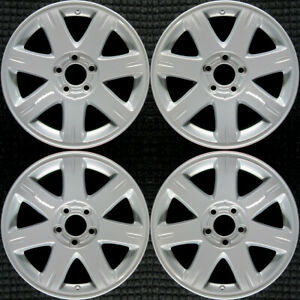 Chrysler 300 All Silver 17 Oem Wheel Set 2005 To 2008