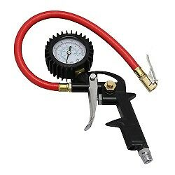 Milton Ex0500p Pistol Grip Tire Air Inflator Gauge