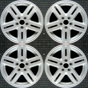 Dodge Avenger All Silver 17 Oem Wheel Set 2008 To 2010