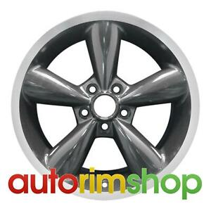Ford Mustang 18 Factory Oem Wheel Rim Machined With Charcoal