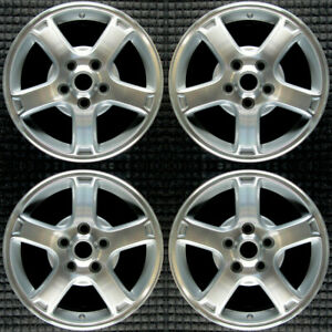 Chevrolet Impala Machined 16 Oem Wheel Set 2003 To 2005