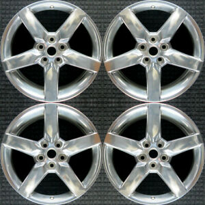 Chevrolet Camaro Polished 19 Oem Wheel Set 2010 To 2013