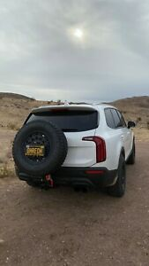 Telluride Spare Tire Hitch Carrier Drop Down