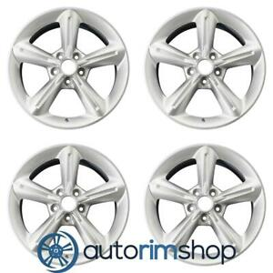 Ford Mustang 2010 2013 18 Factory Oem Wheels Rims Set