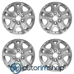 Chevrolet Tahoe 2001 2006 17 Factory Oem Wheels Rims Set
