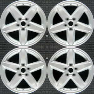 Jeep Liberty All Silver 17 Oem Wheel Set 2008 To 2012