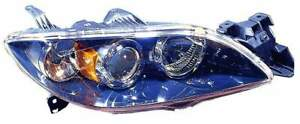 For 2004 2005 2006 Mazda 3 Sedan Headlight Passenger Right Side