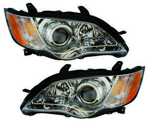 For 2008 2009 Subaru Outback Headlights Pair Set