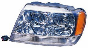 For 1999 2000 2001 Jeep Grand Cherokee Headlight Driver Left Side