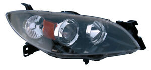 For 2004 2005 2006 2007 2008 2009 Mazda 3 Sedan Headlight Passenger Right Side