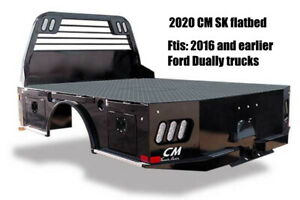 Ford Pickup Bed Dual Rear Wheel Cm Sk Skirted Flatbed Dually Tool Boxes 1520756