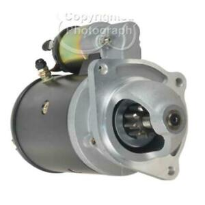 New Starter Fits Ford Tractor 2000 3000 4000 5000 6000 Diesel Higher Torque 1660