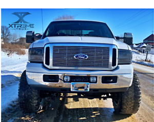 05 07 Ford F250 F350 Super Duty Chrome Harley Davidson Billet Grille