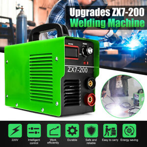 Zx7 200 4000w 200a Electric Igbt Arc Welding Machine Solder Inverter Welder Kits
