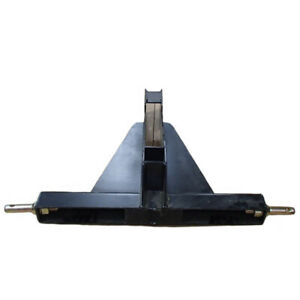 Three 3 Point Tractor Trailer Hitch Black Fits Category 1