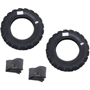 6 00 16 6 00x16 2 Tires 2 Tubes 8 Ply R1 Farm Tractor Tire