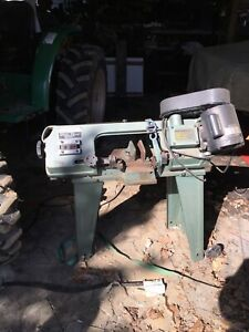 Enco Metal Horizontal vertical Cutting Band Saw Used