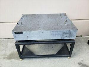 Tru stone Grade Aa Granite Vibration Isolation Inspection Table 44 x33 x8