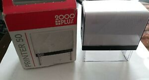 Cosco 2000 Plus Printer 50 Self Ink Rubber Stamp P50 Custom 6 7 Lines