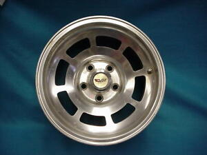 Original 15x8 Corvette Aluminum Rim Wheel 73 74 75 76 77 78 79 80 81 8 Slot L82