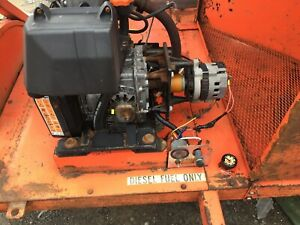 Lombardini 6ld 360 Diesel Engine W trailer tested And Working