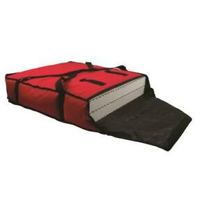 San Jamar Pb25 2 box Red 24 In Pizza Delivery Bag