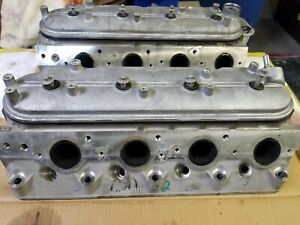 Ls3 823 Cylinder Heads Pair With Valve Covers And Rocker Arms Lsx 6 2 Gm