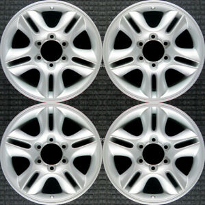 Lexus Gx470 All Silver 17 Oem Wheel Set 2003 To 2009