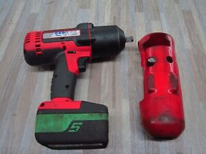 Snap On Ct7850 1 2 Inch Cordless Impact Driver With Ctb8185g Battery Nice
