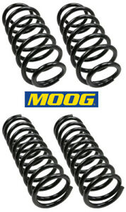 4 Coil Springs Moog Front Rear L R For Jeep Grand Cherokee 99 04 Constant