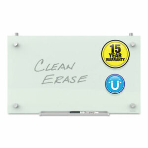 Quartet Infinity Magnetic Glass Dry Erase Cubicle Board 14 X 24 White
