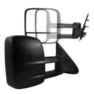 For 97 03 Ford F150 Extend Telescoping Manual Towing Tow Side Mirrors Left right
