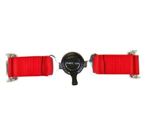 Nrg Innovations 4 Point Seat Belt Harness Cam Lock Red
