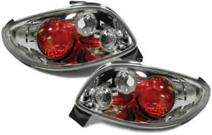 Peugeot 206cc Clear Tail Lights 2000 2007 Model