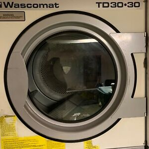 Wascomat Td3030 Dryer Door Good Used Condition