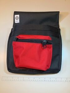 Minuteman Metal Detecting Pouch Black red