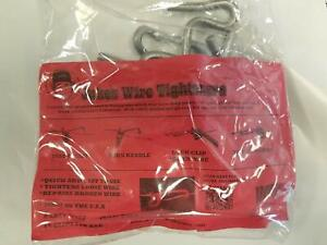 Jakes Wire Tighteners Bag Of 15 5 16 Clips Fix Fence Fast Easy Made In Usa